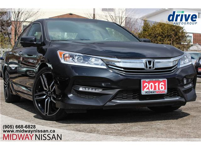 2016 Honda Accord Sport (Stk: U1623) in Whitby - Image 1 of 26
