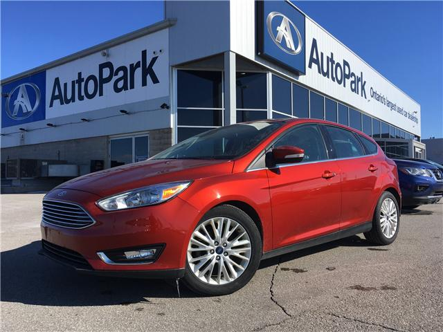 2018 Ford Focus Titanium (Stk: 18-90065RJB) in Barrie - Image 1 of 29