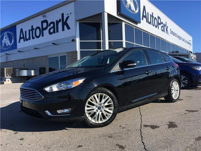 2018 Ford Focus Titanium (Stk: 18-53255RJB) in Barrie - Image 1 of 27
