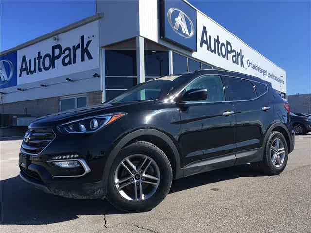 2018 Hyundai Santa Fe Sport 2.4 Premium (Stk: 18-17066RJB) in Barrie - Image 1 of 28