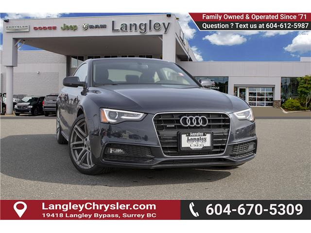 2015 Audi A5 2.0T Progressiv (Stk: J810232AA) in Surrey - Image 1 of 18