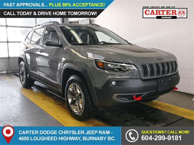 2019 Jeep Cherokee Trailhawk (Stk: K006470) in Burnaby - Image 1 of 11