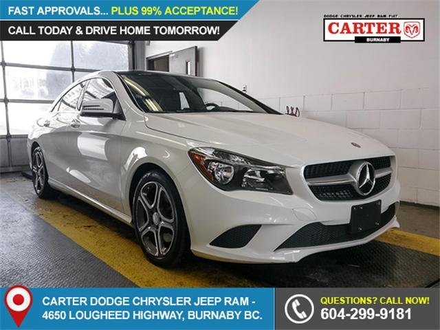 2014 Mercedes-Benz CLA-Class Base (Stk: Y504351) in Burnaby - Image 1 of 22