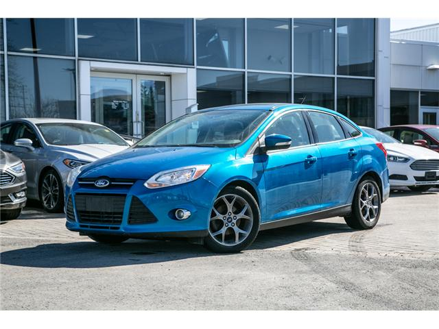 2014 Ford Focus SE AUTO-AIR-POWER MOONROOF (Stk: 947690) in Ottawa - Image 1 of 27