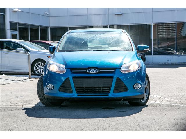 2014 Ford Focus SE AUTO-AIR-POWER MOONROOF (Stk: 947690) in Ottawa - Image 2 of 27