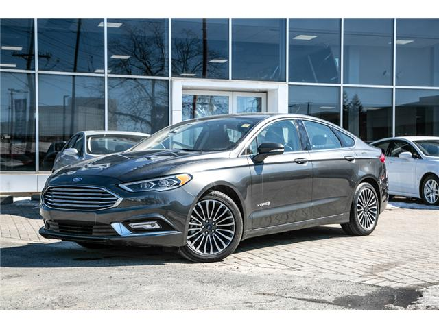 2018 Ford Fusion Hybrid TITANIUM LEATHER-NAV-POWER ROOF-LOADED-BEST DEAL (Stk: 948000) in Ottawa - Image 1 of 29