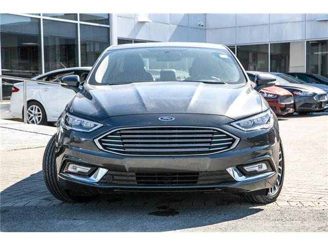 2018 Ford Fusion Hybrid TITANIUM LEATHER-NAV-POWER ROOF-LOADED-BEST DEAL (Stk: 948000) in Ottawa - Image 2 of 29