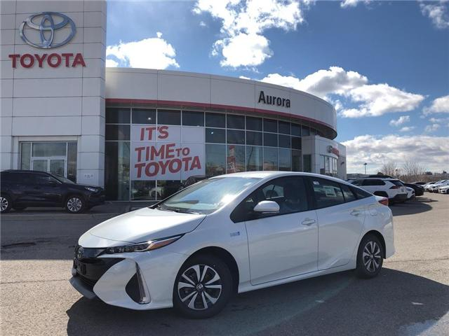 2019 Toyota Prius Prime Upgrade (Stk: 30715) in Aurora - Image 1 of 16