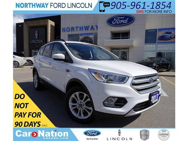 2017 Ford Escape SE | AWD | PWR HTD SEATS | PANO ROOF | (Stk: DR95) in Brantford - Image 1 of 30