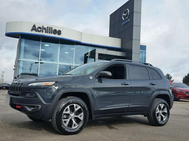 2016 Jeep Cherokee Trailhawk (Stk: K701A) in Milton - Image 1 of 17