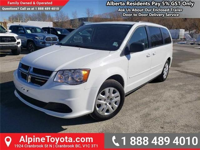 2014 Dodge Grand Caravan SE/SXT (Stk: R416513) in Cranbrook - Image 1 of 16