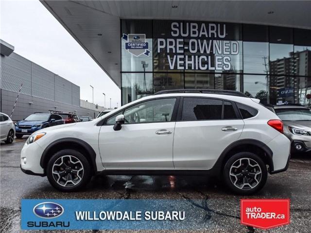 2015 Subaru XV Crosstrek LIMITED | LEATHER | NAVI | SUNROOF (Stk: P2712) in Toronto - Image 2 of 26