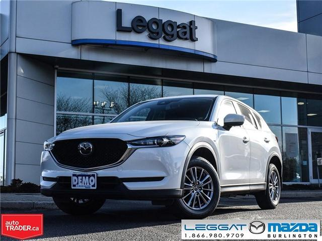 2018 Mazda CX-5 GS- AWD, COMFORT + I-ACTIVE PKG, SNOW TIRES (Stk: 1797) in Burlington - Image 1 of 25