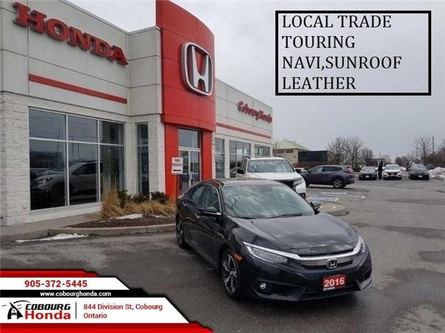 2016 Honda Civic Touring (Stk: 19146A) in Cobourg - Image 1 of 17