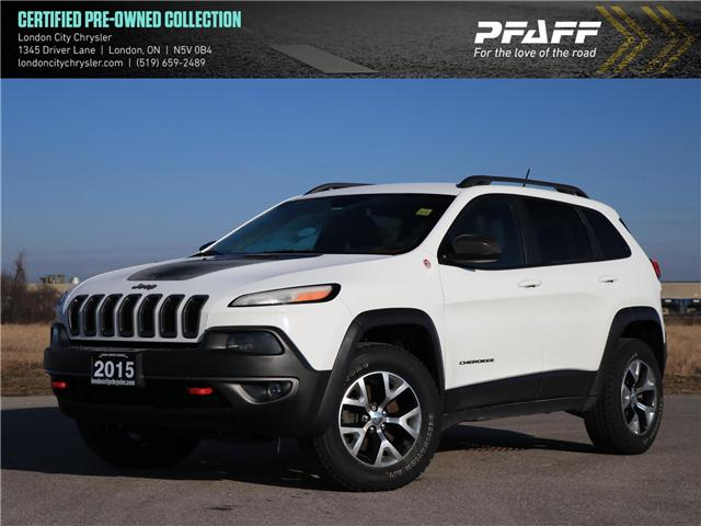 2015 Jeep Cherokee Trailhawk (Stk: 9010A) in London - Image 1 of 24