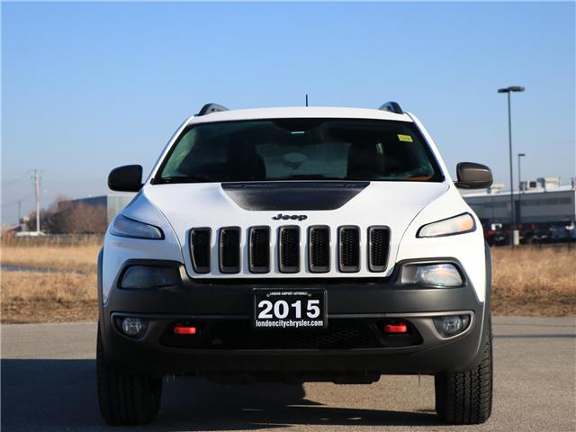 2015 Jeep Cherokee Trailhawk (Stk: 9010A) in London - Image 2 of 24