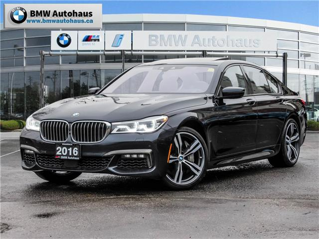 2016 BMW 750i xDrive (Stk: 19649A) in Thornhill - Image 1 of 26
