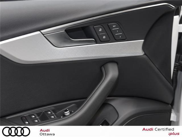 2018 Audi A4 2.0T Progressiv (Stk: 52228) in Ottawa - Image 9 of 19
