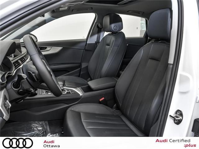 2018 Audi A4 2.0T Progressiv (Stk: 52228) in Ottawa - Image 12 of 19
