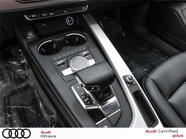 2018 Audi A4 2.0T Progressiv (Stk: 52228) in Ottawa - Image 15 of 19
