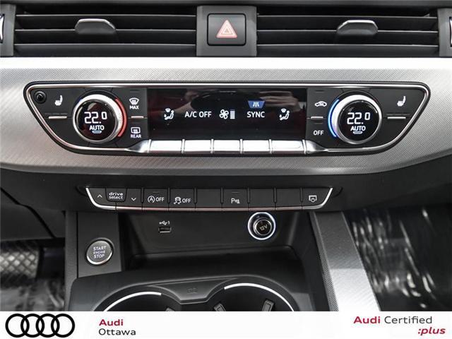 2018 Audi A4 2.0T Progressiv (Stk: 52228) in Ottawa - Image 16 of 19