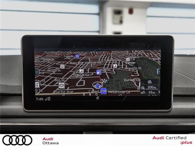 2018 Audi A4 2.0T Progressiv (Stk: 52228) in Ottawa - Image 17 of 19