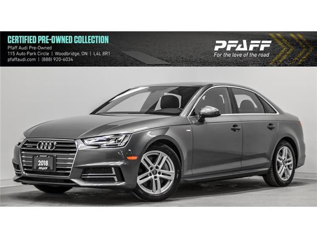 2018 Audi A4 2.0T Progressiv (Stk: C6558) in Woodbridge - Image 1 of 22