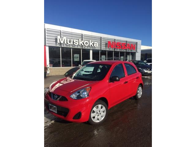 2017 Nissan Micra S (Stk: 17154) in Bracebridge - Image 1 of 9