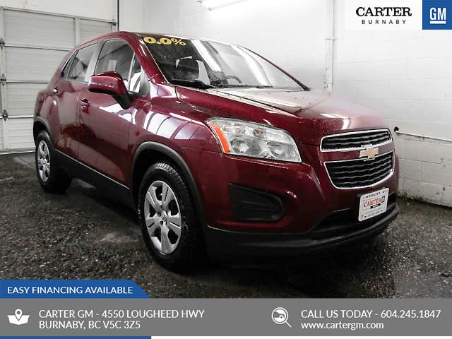 2015 Chevrolet Trax LS (Stk: T8-68871) in Burnaby - Image 1 of 21
