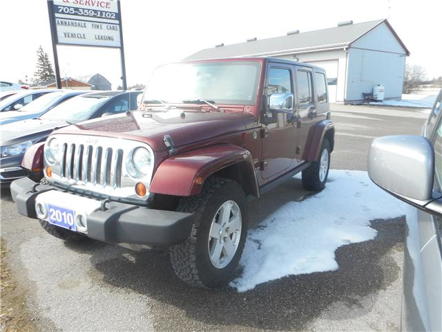 2010 Jeep Wrangler Unlimited Sahara (Stk: NC 3712) in Cameron - Image 1 of 9