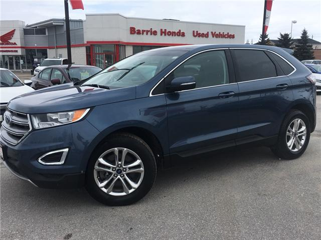 2018 Ford Edge SEL (Stk: U18201) in Barrie - Image 1 of 17