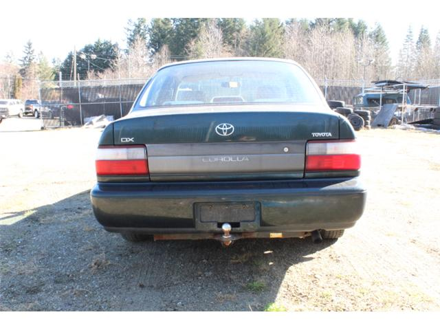 1996 Toyota Corolla DX (Stk: T233220A) in Courtenay - Image 10 of 11