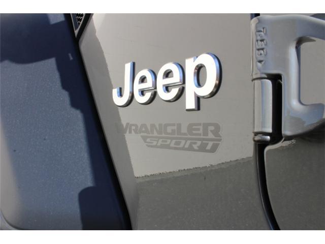 2019 Jeep Wrangler Sport (Stk: W573975) in Courtenay - Image 21 of 28