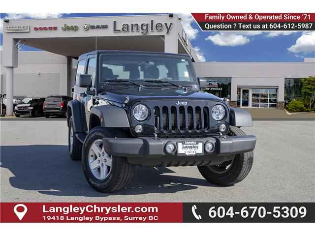 2015 Jeep Wrangler Sport (Stk: J893195A) in Surrey - Image 1 of 18