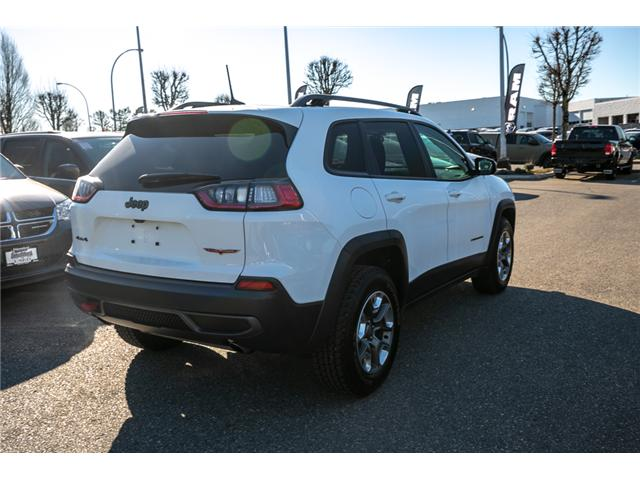 2019 Jeep Cherokee Trailhawk (Stk: AB0830) in Abbotsford - Image 7 of 23