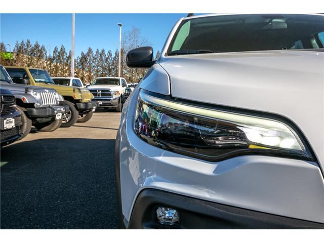 2019 Jeep Cherokee Trailhawk (Stk: AB0830) in Abbotsford - Image 11 of 23