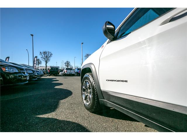 2019 Jeep Cherokee Trailhawk (Stk: AB0830) in Abbotsford - Image 15 of 23