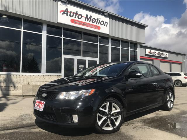 2010 Kia Forte Koup 2.4L SX (Stk: T19349) in Chatham - Image 1 of 19
