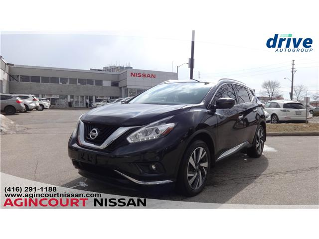 2016 Nissan Murano Platinum (Stk: KN301583A) in Scarborough - Image 1 of 25