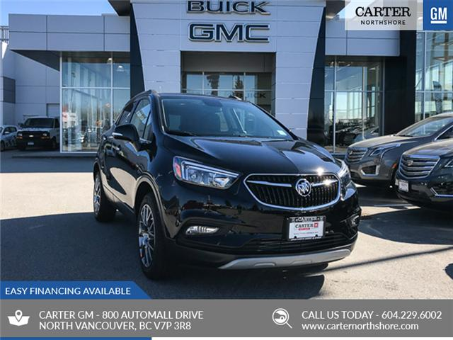 2019 Buick Encore Sport Touring (Stk: 9K01530) in North Vancouver - Image 1 of 13