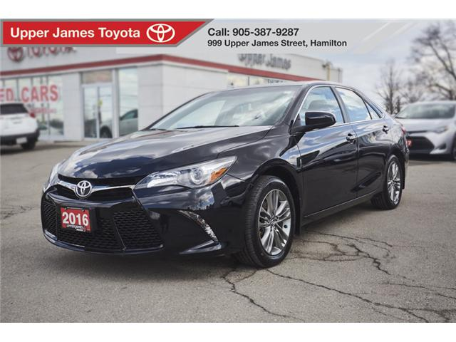 2016 Toyota Camry SE (Stk: 24828) in Hamilton - Image 1 of 18