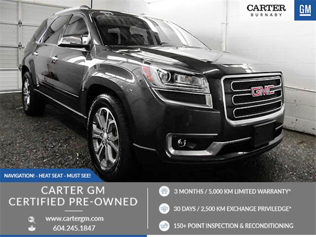 2014 GMC Acadia SLT1 (Stk: 89-16461) in Burnaby - Image 1 of 24