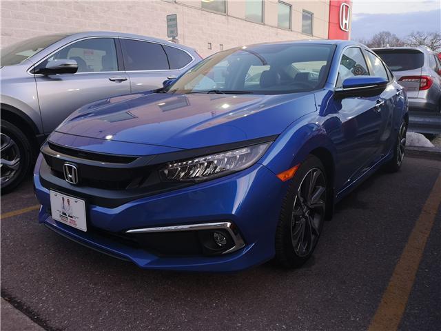 2019 Honda Civic Touring (Stk: G190022) in Toronto - Image 3 of 4