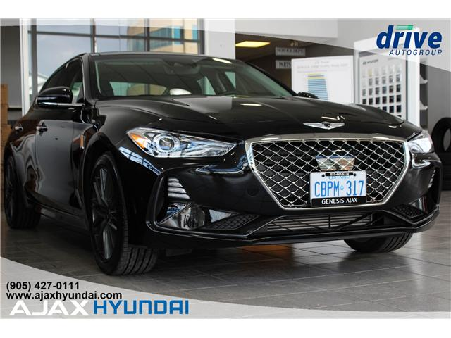 2019 Genesis G70 2.0T Advanced (Stk: G19016) in Ajax - Image 1 of 26