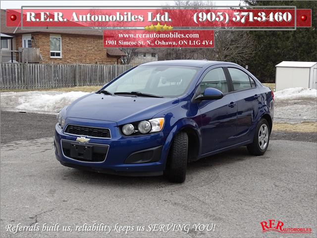 2013 Chevrolet Sonic LS Manual (Stk: ) in Oshawa - Image 1 of 11
