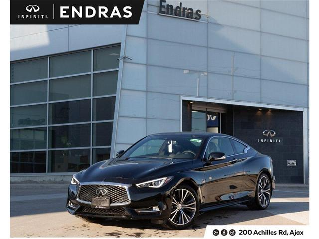 2019 Infiniti Q60 3.0t LUXE (Stk: 60619) in Ajax - Image 1 of 27