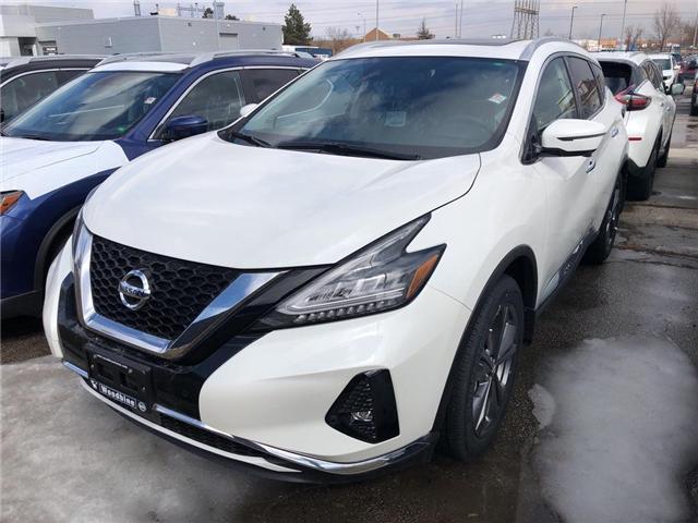 2019 Nissan Murano Platinum (Stk: MU19-008) in Etobicoke - Image 1 of 5