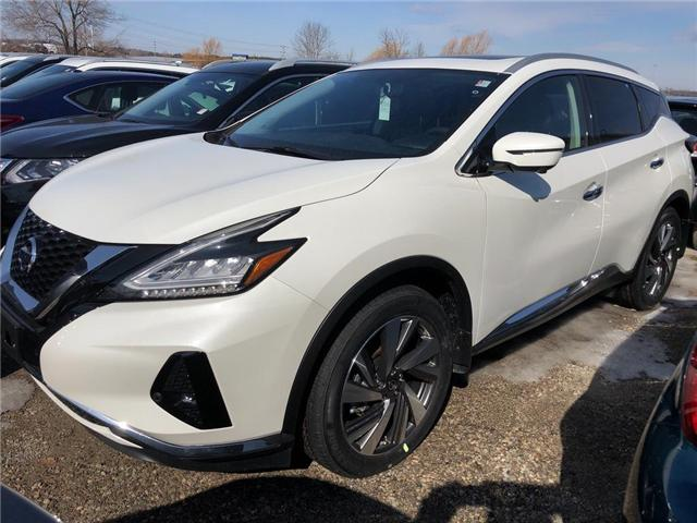 2019 Nissan Murano SL (Stk: V0233) in Cambridge - Image 1 of 5