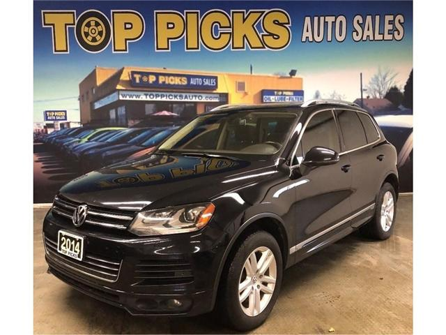 2014 Volkswagen Touareg Highline (Stk: 000794) in NORTH BAY - Image 1 of 30