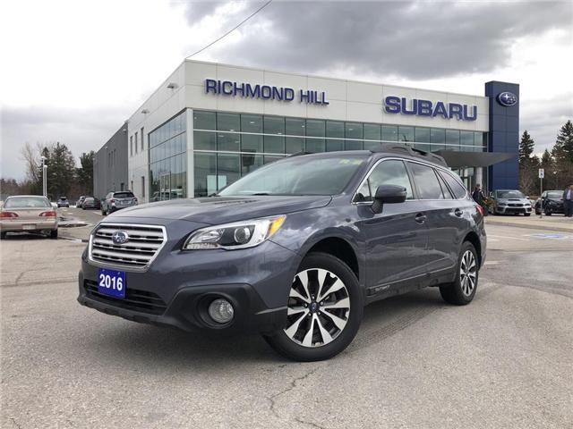 2016 Subaru Outback  (Stk: LP0238) in RICHMOND HILL - Image 1 of 26